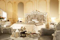 Baroque inspired bedroom