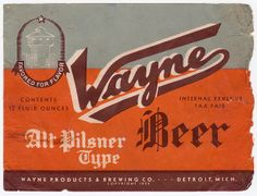 Vintage Beer Labels and Advertisements - Before the Digital Age - StarSunflower Studio