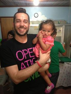 #SmileAmbassador #ZacharyLevi is in volunteering on a medical mission in Honduras this week! Here he is holding one of our patients, little Tatiana. Stay tuned for more updates from the team in Honduras!