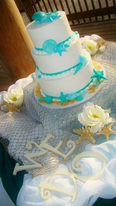 great for your wedding at the beach.  via:weddingomania