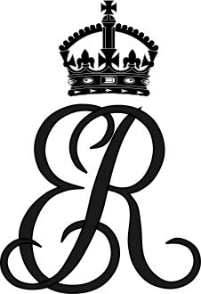 Royal Monogram Of Queen Elizabeth The Queen Mother