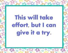 One set of 8 posters with phrases to encourage growth mindset thinking. #mindset #kids #growth