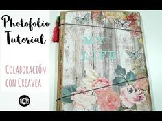 TUTORIAL PHOTOFOLIO TOGA COLABORACIÓN CON CREAVEA - YouTube Mini Scrapbook Albums, Mini Albums, Tim Holtz, Junk Journal, Projects To Try, Paper Crafts, Rose, Youtube, Pictures