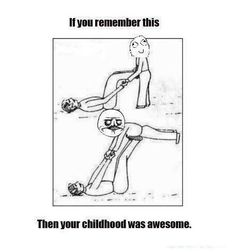 Marianne, do you remember when we used to do this as kids? :)