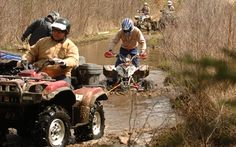 YOUR ATV AND WATER - Photo Gallery - ATV Trail Rider