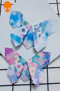 Gift Box Origami For Christmas - DIY Tutorials Videos Diy Origami, Cute Origami, Useful Origami, Paper Crafts Origami, Origami Tutorial, Diy Paper, Paper Crafting, Paper Art, Origami Folding
