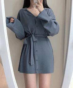 Korean Girl Fashion, Ulzzang Fashion, Cute Fashion, Asian Fashion, Look Fashion, Kpop Fashion Outfits, Girls Fashion Clothes, Girl Outfits, Cute Casual Outfits