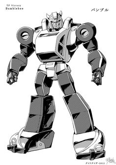 """""""TF Victory"""" Bumblebee by GuidoGuidi on DeviantArt"""