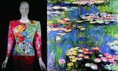 Laurent inspired by Monet