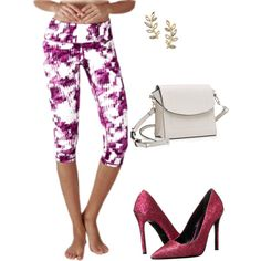 A fashion look from September 2016 by yogareflex featuring Just Cavalli and…