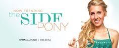Now Trending: The Side Pony