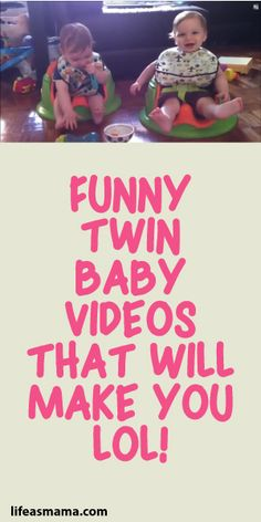 Funny Twin Baby Videos That Will Make You LOL!