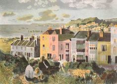 'Hastings' by Edwin la Dell. 1947 (lithograph)