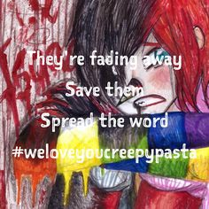 #weloveyoucreepypasta #spreadtheword #yourcreativitymyreality Spread the word and help the community grow bigger than ever before.