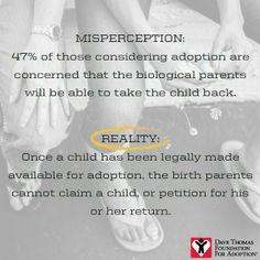 Once a child has been legally made available for adoption, the birth parents cannot claim a child, or petition for his or her return. Foster Care Adoption, Foster To Adopt, Biological Parents, Adoption Process, Make A Family, Heavenly Father, Social Work, The Fosters, Children