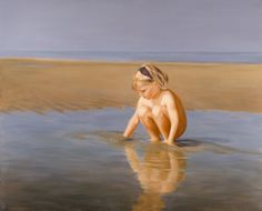 Michelle, oil on canvas, 140 x 120 cm by Patty van Loon