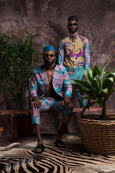 Vlisco x Trevor Stuurman at the One Source Live Festival (SA) African Inspired Fashion, African Print Fashion, Africa Fashion, Fashion Prints, African Fashion For Men, Fashion Art, Fashion Hacks, Editorial Fashion, Mens Fashion