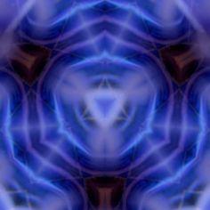ajna third eye chakra  fyne art print 8x8 by mindmanifesting, $15.00