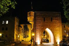Bernau bei Berlin - Mühlentor - St. Marien-Kirche