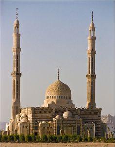 Al Mustafa Mosque in Sharm El Sheikh, Egypt
