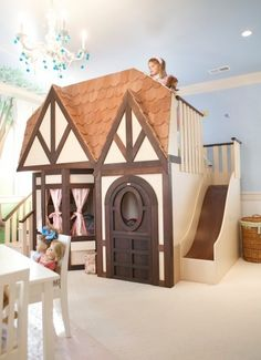 Girl Playhouses Design, Pictures, Remodel, Decor and Ideas
