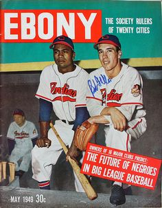 vieilles-annonces:    The Future of Negros in Big League Baseball - Ebony Magazine, May, 1949 on Flickr.