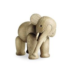 They say that #Elephants never forget, and fortunately thanks to global renewed interest, the works of #Danish #designer - Kay Bojesen have not been forgotten.  #KayBojesen needs no introduction to the initiated.  For those new to #modern #Scandinavian #design, #Bojesen was a #silversmith (of Georg Jensen lineage) who shifted professions, creating #wooden #toys when he first became a father.  The #Elephant was created in #1953 when Kay's toy workshop was well established.  As is the case…