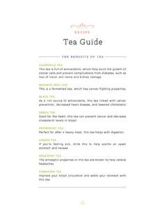 A Cup of Tea - Ruche Spring/Summer DIY Guide