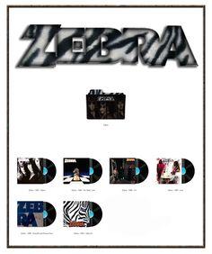 Album Art Icons: Zebra