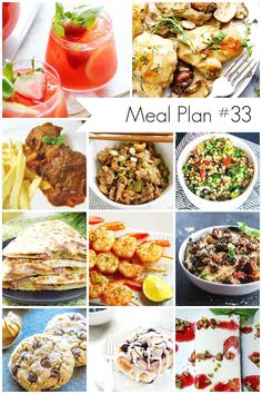 Ioanna's Notebook - Weekly Meal Plan #33 - Each week I put together a meal plan loaded with delicious recipes for everyone.