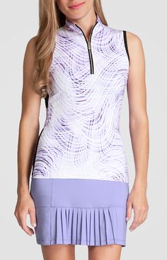 Colette Top  - On the Dot for Golf - Tail Activewear - Women's Golf Fashion Apparel