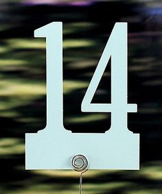 Table Numbers: Laser Expressions Classic Paper Number Set