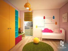 Návrh detskej izby CU-Interiors - Ideas of children room Kids Room, Interiors, Architecture, Rugs, Children, Ideas, Design, Home Decor, Arquitetura