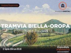 Favaro, invasione digitale della Tramvia Biella-Oropa, domenica 27 Aprile 2014, ritrovo ore 9,00 presso il Bar Sociale a Biella, partenza dal quartiere Favaro fino a Oropa. http://www.sphimmstrip.com/2014/04/il-27-aprile-invadiamo-la-tramvia-biella-oropa-invasionidigitali-explorebiella.html