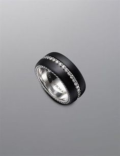 Men's Wedding Ring by David Yurman --- my favourite!!!  :o)
