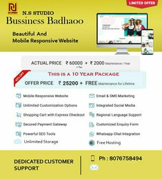 Lowest website package for 10 year Mobile Responsive, 10 Years, Packaging, Marketing, Website, Business, Text Posts, Store, Wrapping