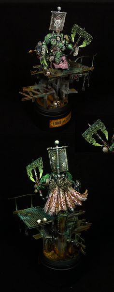 40k - Lord of Decay, Nurgle Chaos Lord by fantasygames