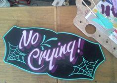 Tattoo Studio sign by Gypsy Rich.