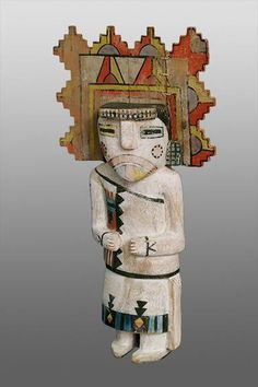 KachinaPalhik Mana (The Butterfly Maiden) Hopi,circa 1920 19 x 9 ½ inches