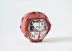 PAPER DARUMA 【マゴクラ】段ボール3枚でできる紙のダルマ