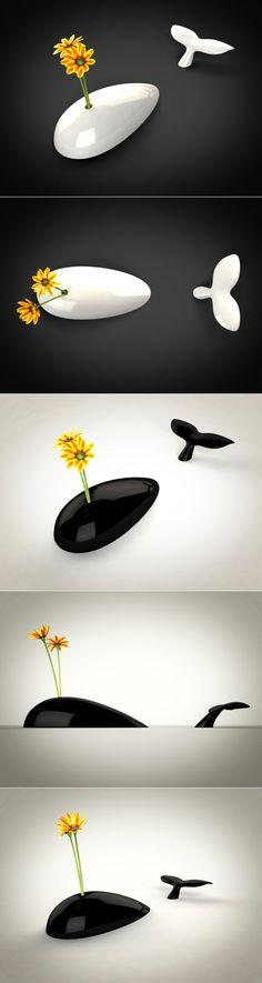 ♨mONSTER dESIGN bLOG - 몬스터디자인 블로그 :: 고래 꽃병 by Alessandro Bêda