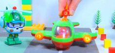 Детские игрушки!Вертолетик Хелли и его новый друг самолётик  Развивающие...