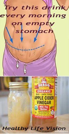 WHAT HAPPENS WHEN YOU DRINK APPLE CIDER VINEGAR AND HONEY ON AN EMPTY STOMACH IN THE MORNING…