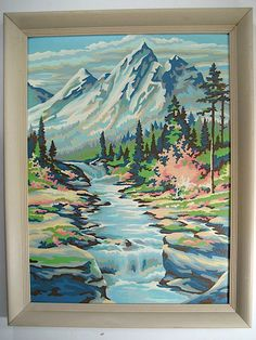 Mountain Serenity Paint by Number