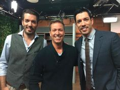 Hanging out on the @Cityline set w/ Chef @RicardoCuisine and @mrdrewscott