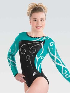 Wrapping Petal Competitive Leotard – GK Elite Sportswear Gymnastics  Competition Leotards 9ca53cb4883
