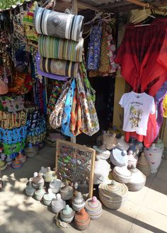 Another photo from the Tourist Market in Banjul, The Gambia, some nice things really.