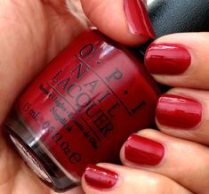 OPI All I Want For Christmas (Is OPI) from the OPI Mariah Carey Holiday 2013 collection