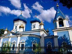 Moldova's stunning All Saints Church sits in Armenian Cemetery in the capital, Chisinau.