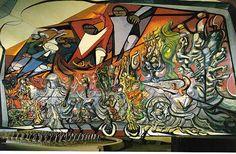 Siquieros  The March of Humanity  1971  Parque de Lama, Mexico City